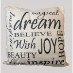"""Dream Believe"" Cushion"