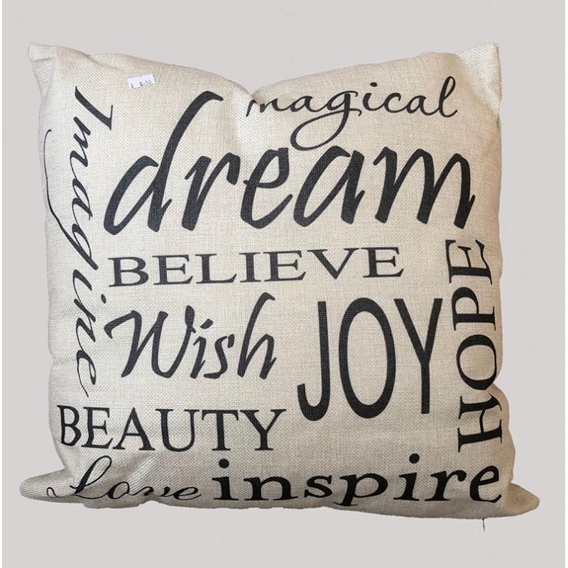 """Dream Believe"" Cushion"