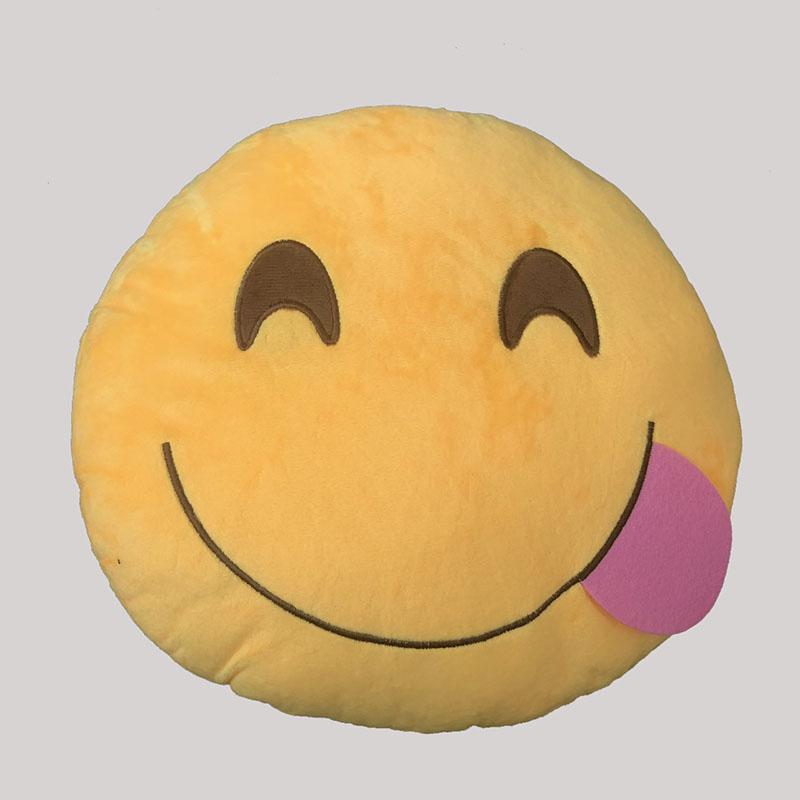 Emoji Hungry Cushion