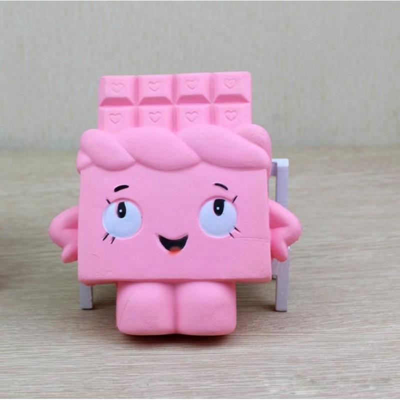 Pink Chocolate Squishy