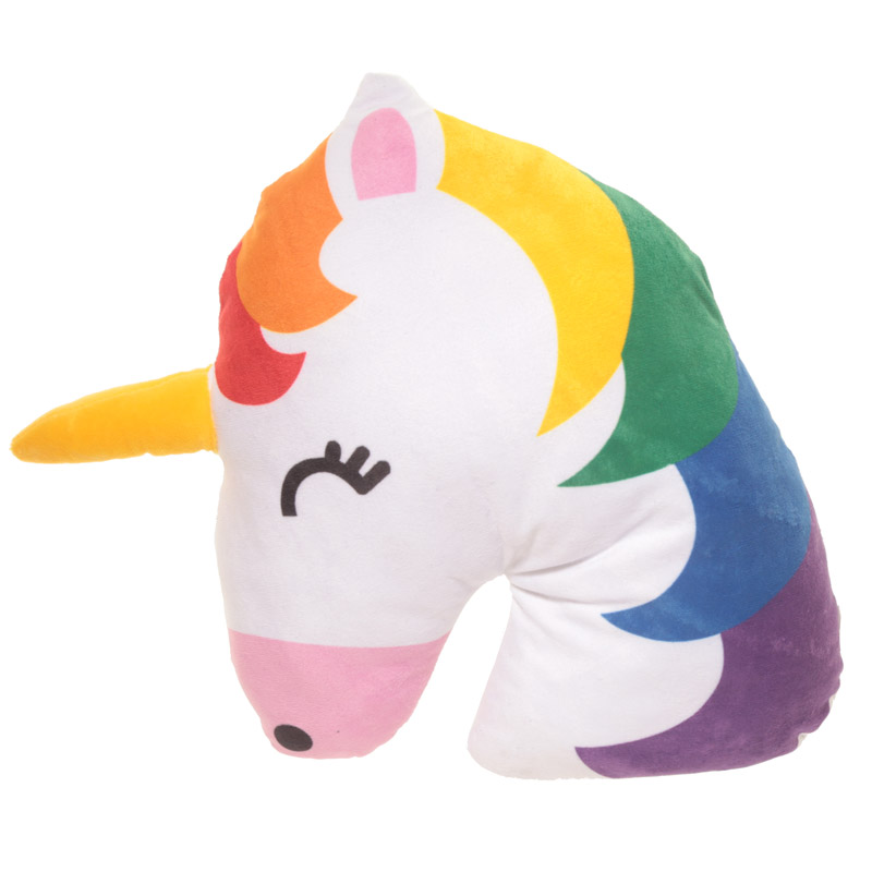 Unicorn Head Cushion