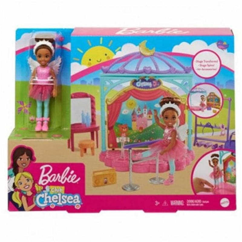 Barbie Club Chelsea Ballet Playset