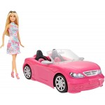 Barbie Convertible and Doll