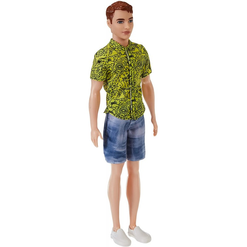 Barbie Fashionista Ken Doll with Red Hair