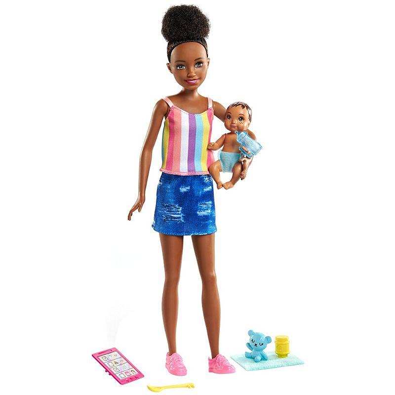 Barbie Skipper Babysitter Inc Doll with Black Hair...