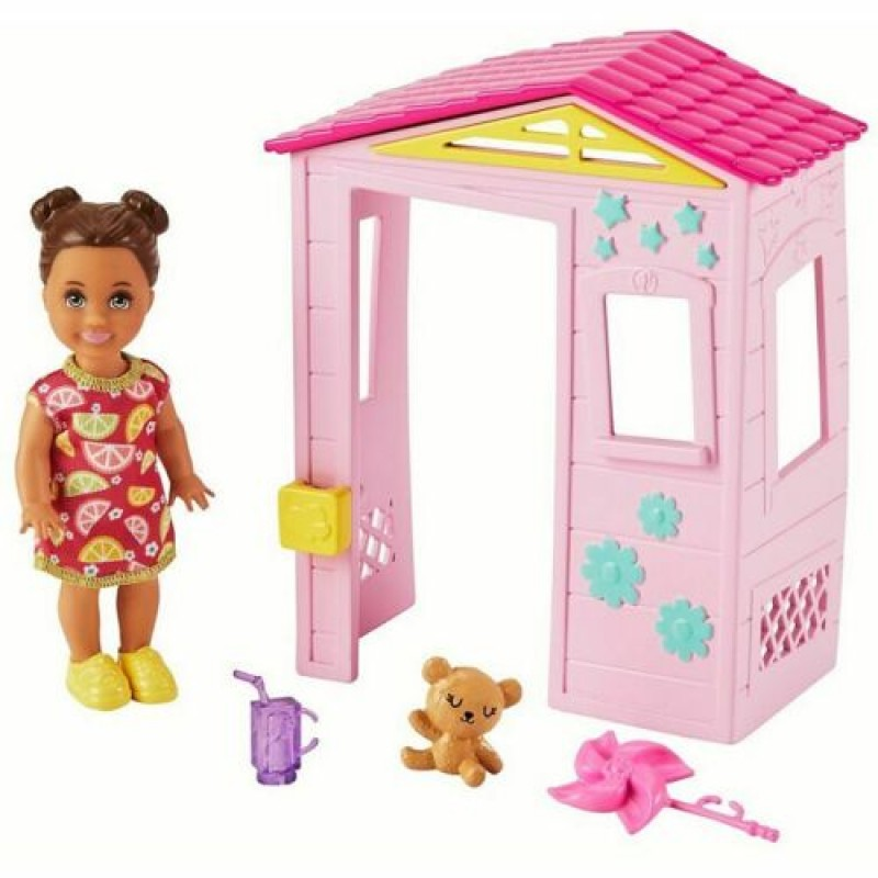Barbie Skipper Babysitters Inc Playhouse Set