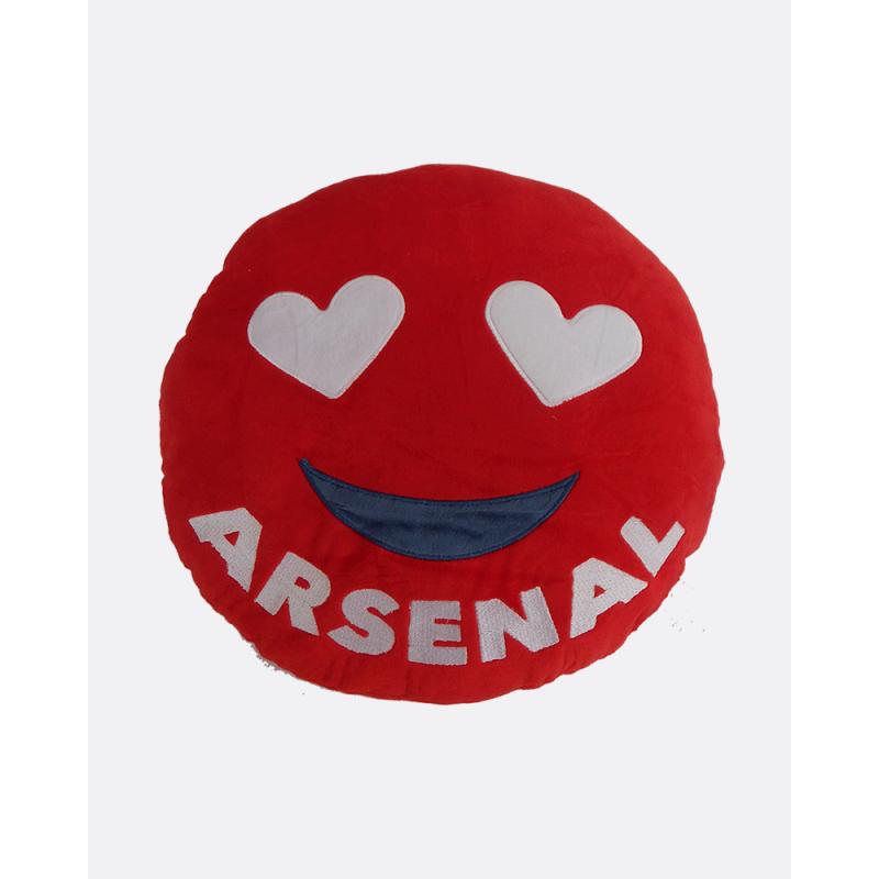 Emoji Arsenal Football Cushion