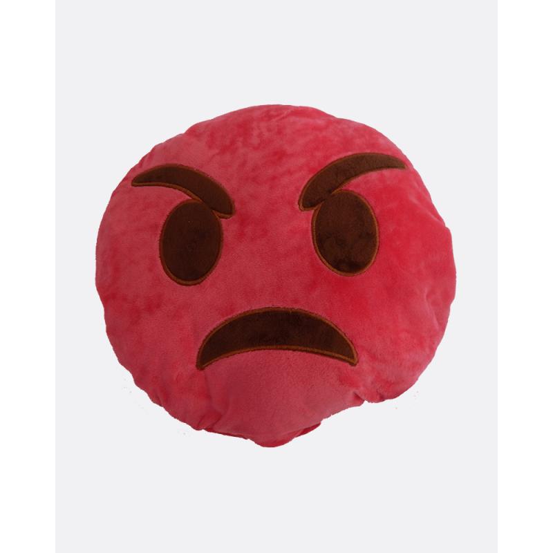 Emoji Cushion Angry