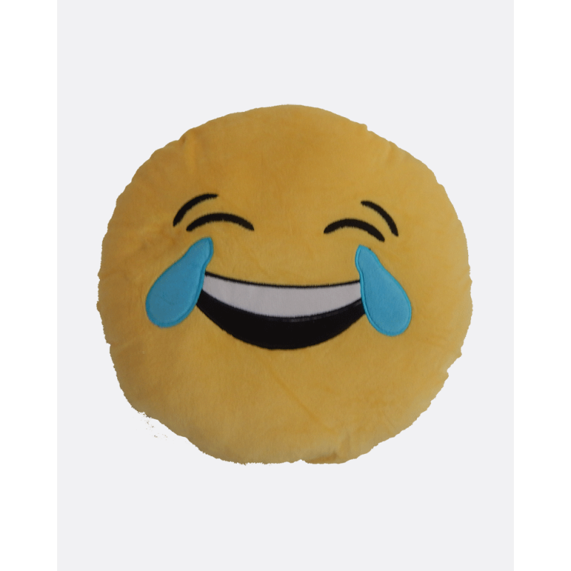 Emoji Cushion Laughing Tears