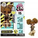 L.O.L. Surprise! JK Queen Bee Mini Fashion Doll 15 Surprises