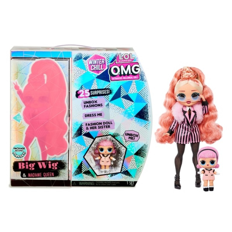 L.O.L. Surprise! OMG Winter Chill - Big Wig and Madame Queen