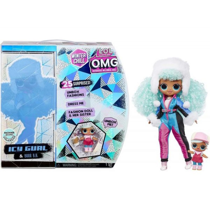L.O.L. Surprise! Omg Winter Chill Icy Gurl & Brrr BB