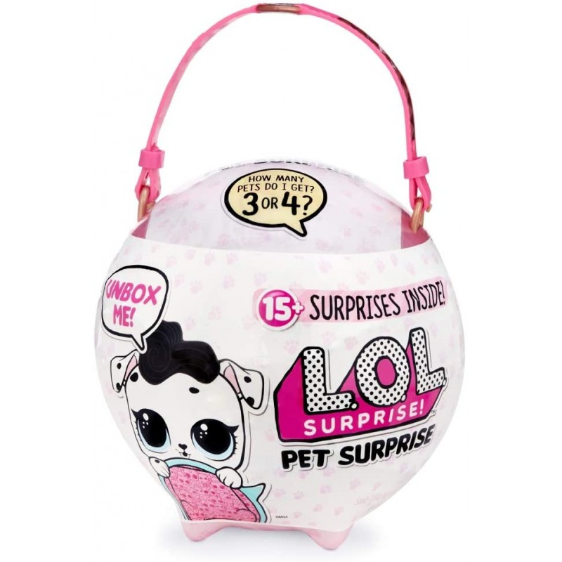 L.O.L. Surprise! Pet Surprise Biggie Pets Ball 15 ...