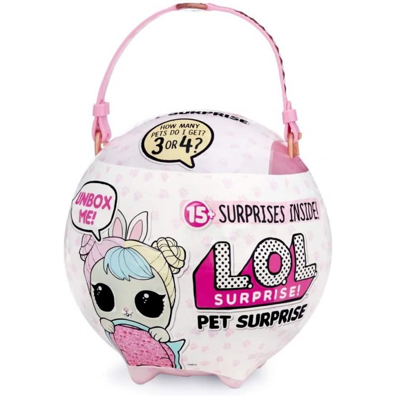 L.O.L. Surprise! Pet Surprise Biggie Pets Ball 15 Surprises