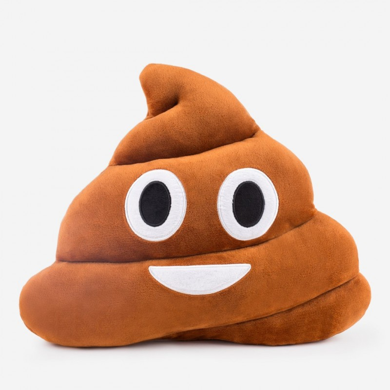 Emoji Brown Poo Cushion