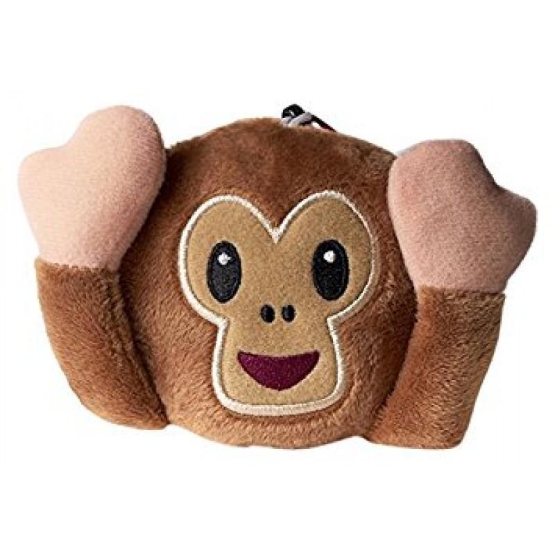 Emoji Cushion Monkey Hear No Evil