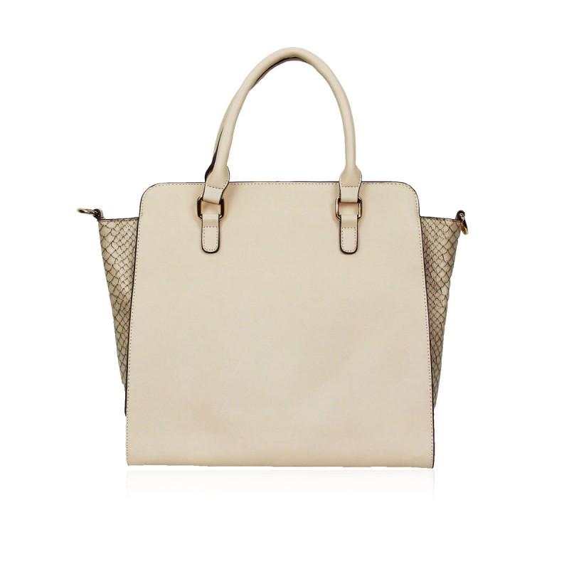 Anna Smith Designer Cream Handbag