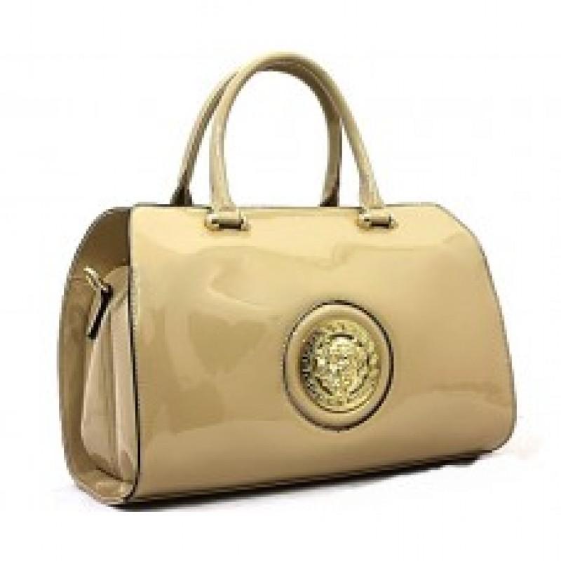 Bessie London Designer High Gloss Handbag