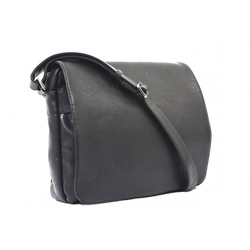 Bobby Black Men's Messenger Bag
