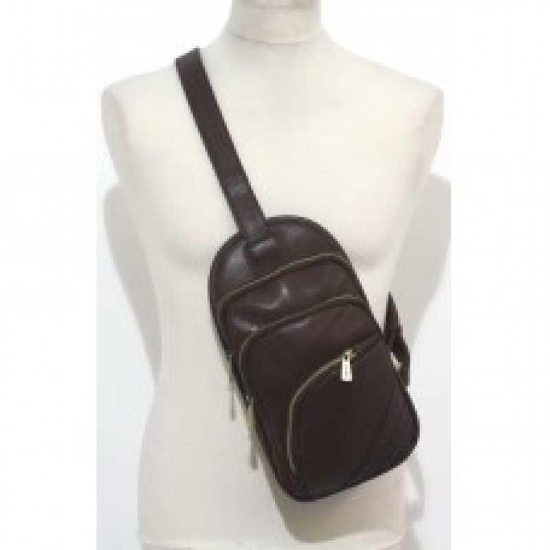 Bobby Black Cross Body Man Bag