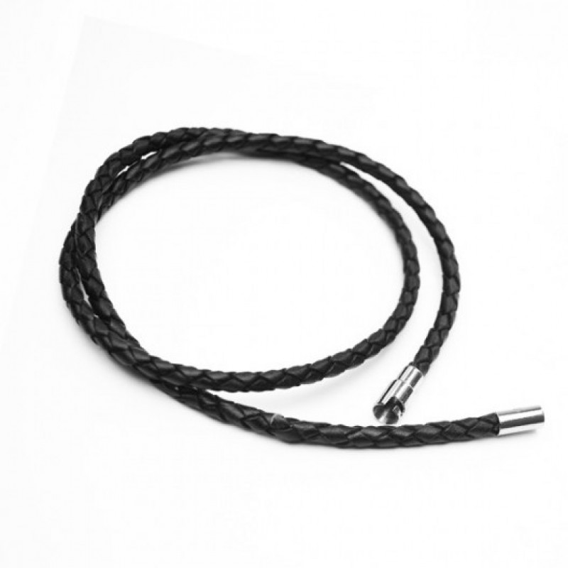 INSPIRIT  Men's 4mm 20 inch Leather Choker
