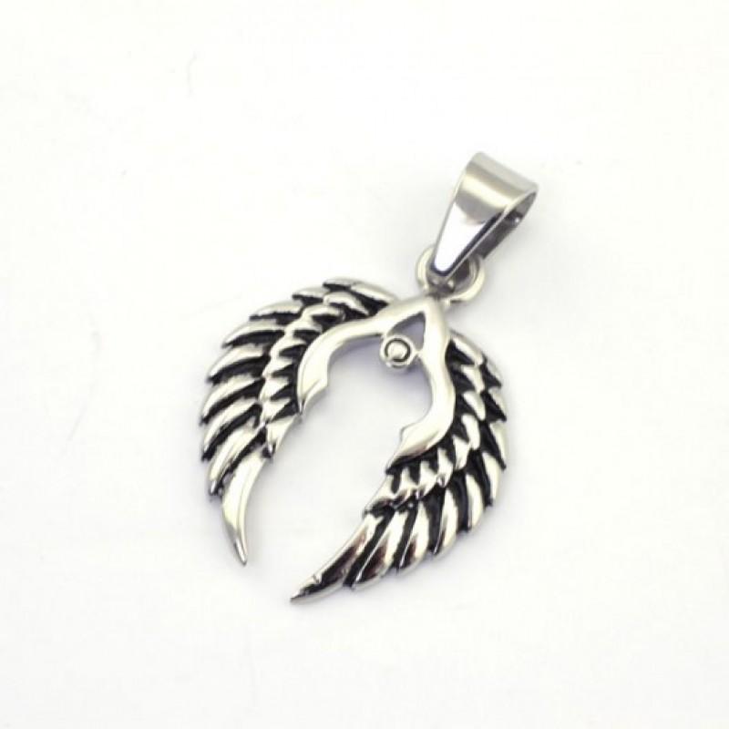 INSPIRIT Stainless Steel Wings Pendant