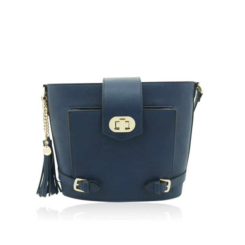DSUK Navy Blue Handbag