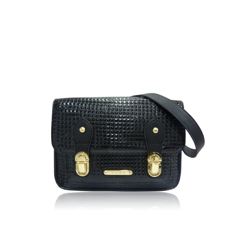 LYDC Mini Black Satchel