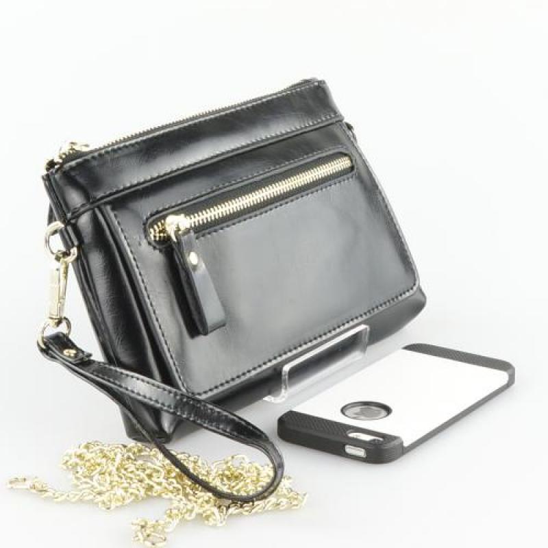Peach  Leather Handbag