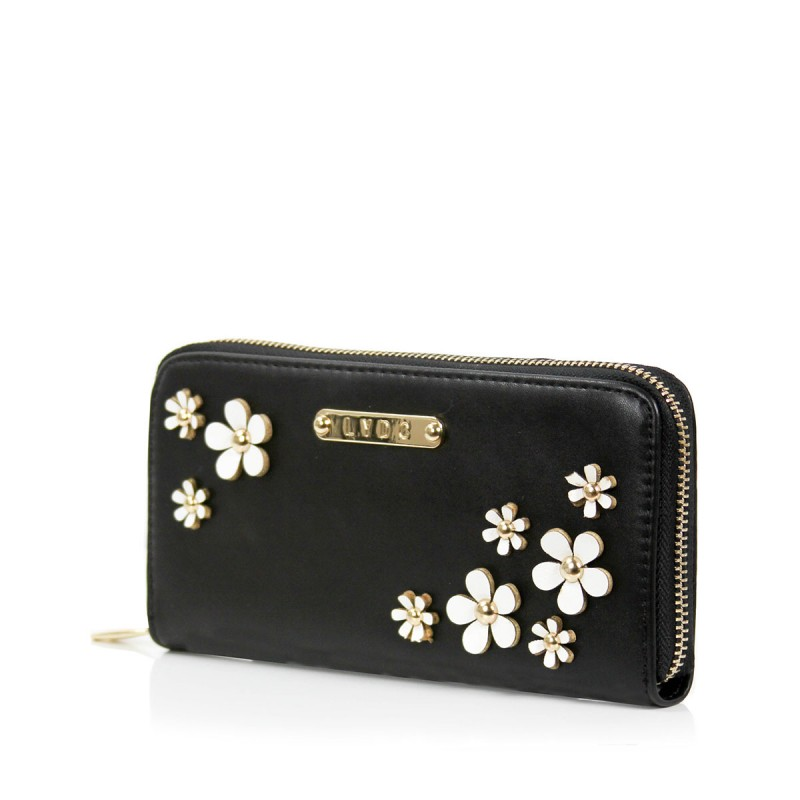 LYDC Purse with 3D Flowers
