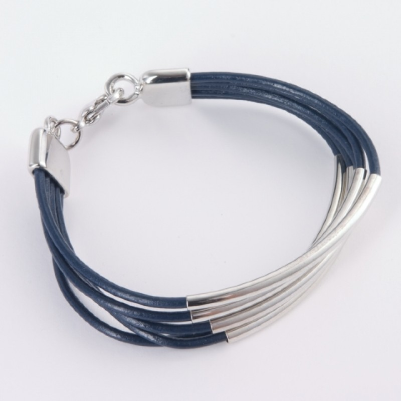 Alana Leather Multi Strand Bracelet