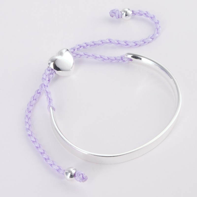 Alexa Silver Bar Bangle